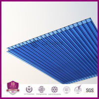 Double wall polycarbonate roofing sheet/construction PC panel