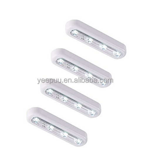 LED Motion Sensing Closet Lights Wireless Cabinet Night/ Stairs/ Step Light Bar with Magnetic Strip