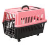 Comfortable foldable pet products plastic dog carrier