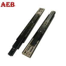 Full extension ball bearing slides 45mm push to open slider metal sliding drawers