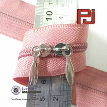 #5 Hot sale two slider nylon zipper for women dress