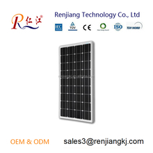 High efficiency 80 watt monocrystalline silicon industrial chinese solar panel price for sale