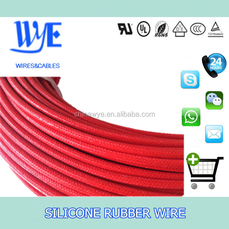 AGRP 20 guage high voltage braided silicone cables abrasion resistance wires