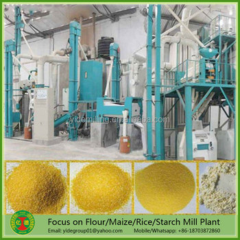 Best selling Energy saving complete high quality maize flour mill equipment