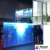 P6 good glass transparent curtain video led display