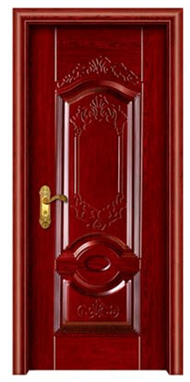 single door steel cupboard steel main door made in china