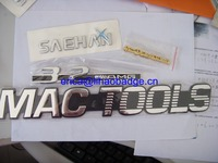 Custom Car Logo Emblem ABS Plastic Badges ,3D Famous Brand Names Logos