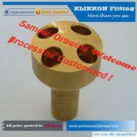 brass aluminum used auto part