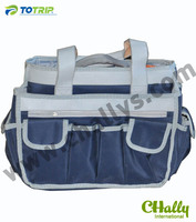 Tote hairdresser tool bags with PU leather