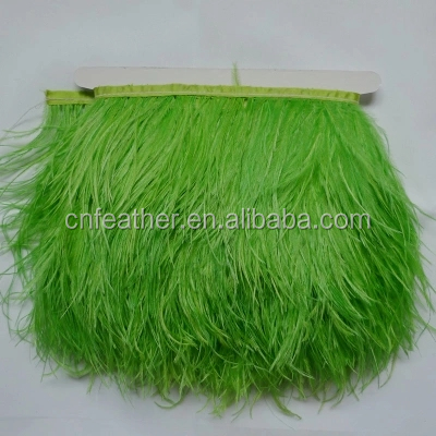 Wholesale Decorative Feather Trimming Artificial Ostrich Feather Trimming for Garment Clothing dresses