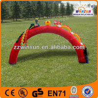 China inflatable dragon entrance arch for advertising