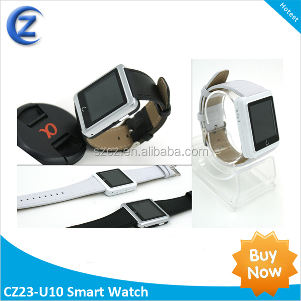 <strong>U10</strong> U Watch Waterproof Anti-lost Remote capture Bluetooth Smart Dial Bracelet Watch for Android Phone
