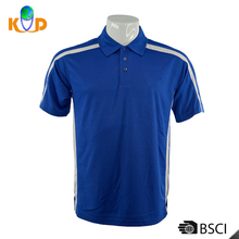 Wholesale Custom Fashion Design Men 100% Polo T Shirt , Blue Color Man Blank T-Shirt For Sports