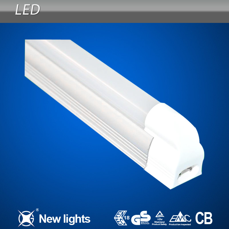 High Lumen Output Integrated Structure T5 LED Fluorescent Tube Replacement