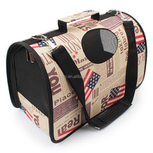Portable Pet Dog Carrier Bag Travel Dog Cat Carry Bag Shoulder Bag