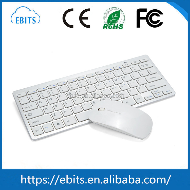 Ultra Compact Wireless Keyboard and Mouse Combo for IOS Windows Android
