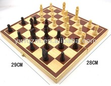 solid wood chess international chess for wholesale