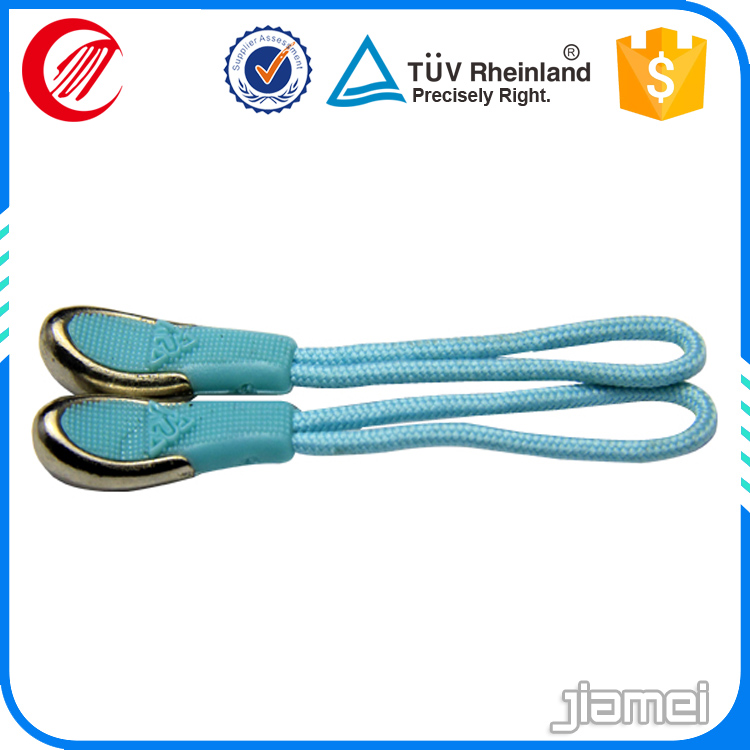 double side logo clothing Silicone Rubber Zipper Puller