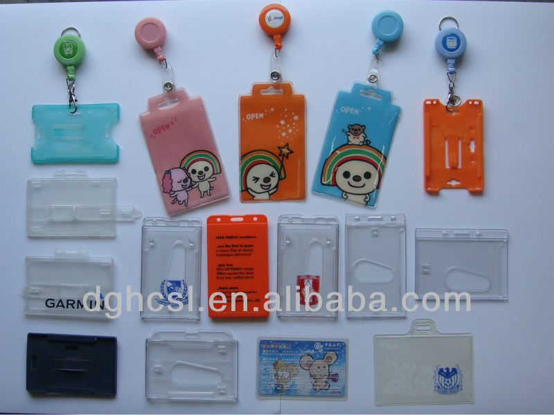 YoYo ID badge holder PVC