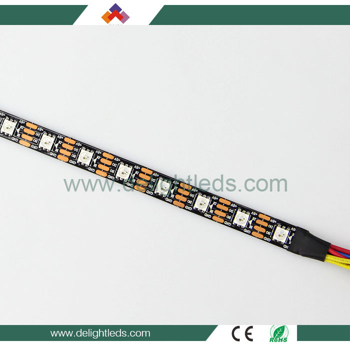 Individually smd5050 60 leds 2813 IC 5v ws2813 addressable rgb led strip