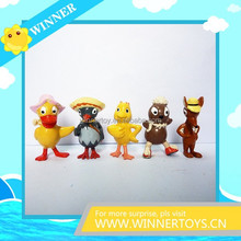Promotional plastic Cartoon Character Figure