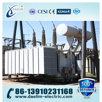 Low Loss 220kv 40mva Power Transformers with Iron Core