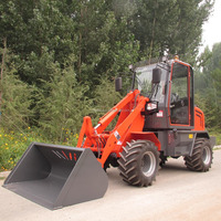 2016 Best Sale 1.0ton lifting capacity mini loader-ZL08,cheap price mini loader