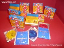 Unilatex Multifruit Condoms: 3 pack (3 colours+3 flavours)