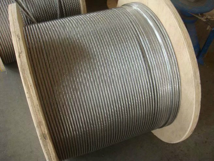 steel wire rope 12mm - 50mm used for elevator