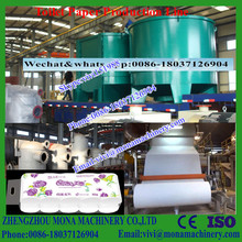 1760mm 5T/D Small toilet paper making machine/ recycling paper machinery price (0086-18037126904)
