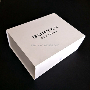 china manufacturer hot sale luxury magnetic folding gift box with magnet closure