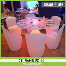New design starbucks furniture/led furniture with CE RoHS UL approved