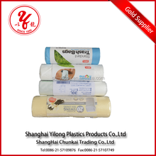 100% biodegradable kitchen trash bags/Biodegradable garbage bag,Wholesale hdpe/ldpe plastic colored garbage bags trash bags