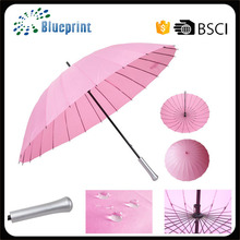 24 Ribs Unique Design Fancy Design Umbrella Promotional