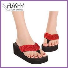 Wholesale women flip-flop women's thong huarache shoes zoris 2015