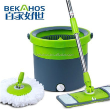 2014 new products single bucket spin magic wonder mop TV shopping products