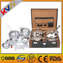 New fashion high quality stainless steel big hot pot casserole