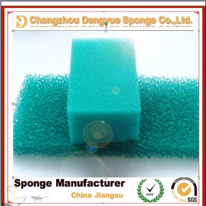 kitchen cleaning foam sponge scouring pad coarse filter sponge