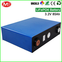AOSO 2000 cycle high power lithium ion battery 3.2V 85ah rechargeable LiFePO4 battery cell