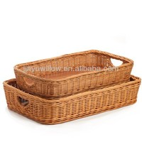 China traditional Wicker baskets wholesale for bread