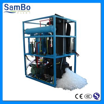 High Quality 3Ton Ice Tube Maker With CE Certification