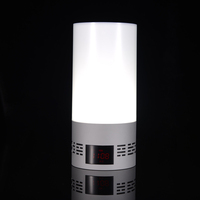 hot sale Custom logo led lamp Wireless Bluetooth mobile multimedia speaker with app