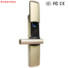 Small Mini Code Digital Lock Fingerprint Reader Door Lock Hidden Cabinet Lock