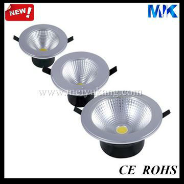 "4"" chrome led downlight dimmable kit"