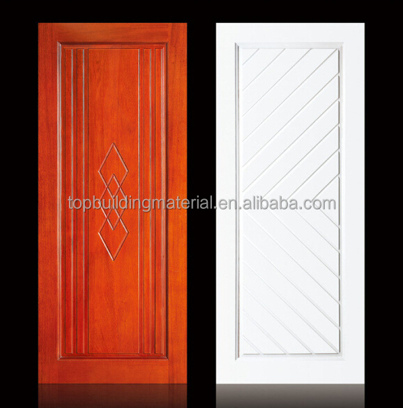 2017 door solid door interior modern wooden door stock