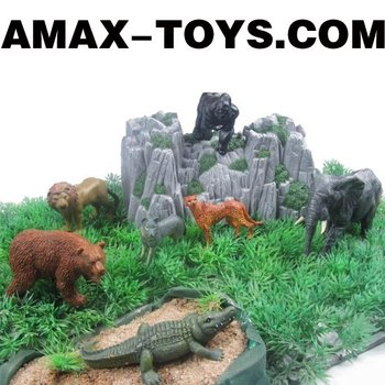 ANI-980957 emulational animals wild animals set (7pcs)