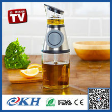 KH Direct Factory Price essential oil vinegar dispenser,plastic kitchen oil dispenser bottle for better life