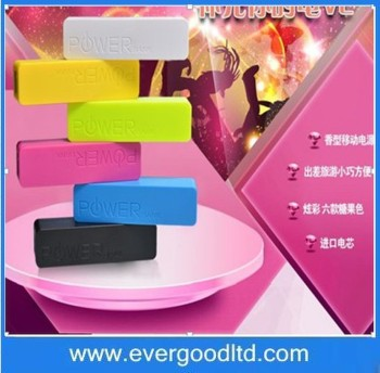 Perfume Power Bank 2600MAH Power Bank Portable External for Wholesale