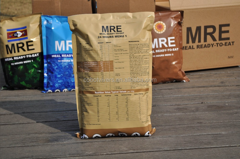 Meals ready to eat, Chinese MRE food manufacturer