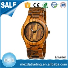 2016 factory price nature wooden men Eco-friendly watch wood